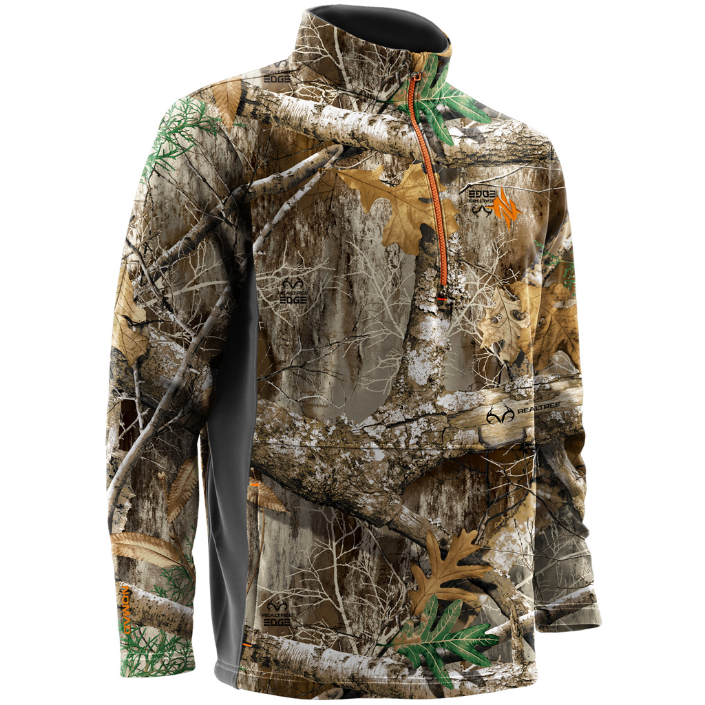 4a7feda91a6e9 Nomad Southbounder 1/4 Zip Fleece - Realtree Edge Size: X-Large ...