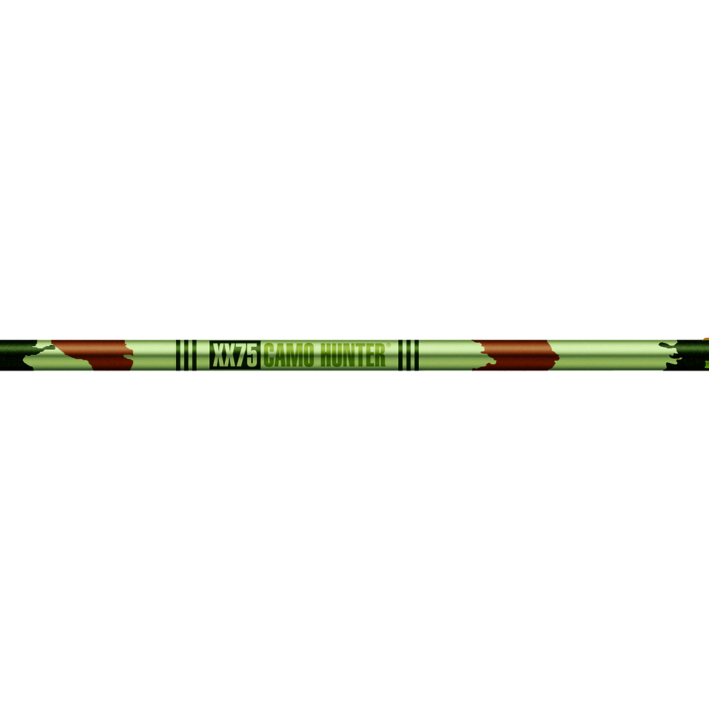 Easton XX75 Camo Hunter 2016 Aluminum Arrows w// Vanes 12