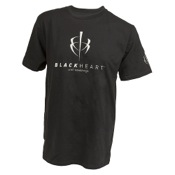 Blackheart T-Shirt, Med, Black, S/S