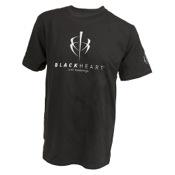 Blackheart T-Shirt, Lg, Black, S/S