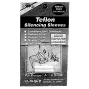 U-nique Teflon Silencing Sleeves, 2/pk.