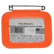 Rickard_s/Scotch License Holders, Orange, Single