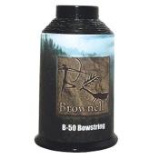 Brownell Dacron B50 Bow string Fiber, 1/4 lb., Black, .018 Dia.