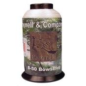 Brownell Dacron B50 Bow string Fiber, 1/4 lb., White, .018 Dia.