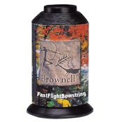 Brownell Fast Flight Bowstring, 1/4 lb., Black, .015 Dia.