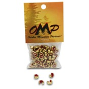 OMP Nok Sets, 18+ st, 100/pk., Red, XL