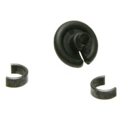 "OMP Slotted Kisser Button, 3/8"", 1/pk"
