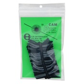 Bateman Cam Puffs, 1 pr./pk., Black/Gray