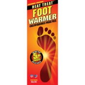 Grabber Foot Warmer Insoles, Sm/Md, 2/pk