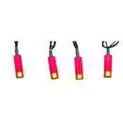 Rivers Edge Decorative Light Set, 10_, 10pc., Shotgun Shell