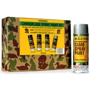 H.S. Spray Paint Kit, 12 oz.