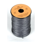 "Brownell 1D Serving, 100 yds, Blk, Braided, .019"" Dia."