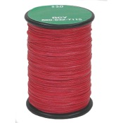 "BCY 3D End Serving, 120yds, Red, .016"" Dia."