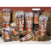 Pacific Mtn Farms Jerky Sticks Jar, 30/pk, Hot Venison