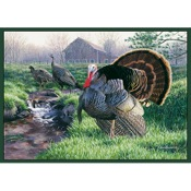 "CR Wild Turkey Rug, 36""x52"", Nylon"
