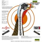 Primos Shotgun Patterning Turkey Target, 12/pk.