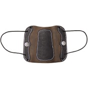 Vista Deluxe Traditional Armguard w/Elastic, One Size, Leather