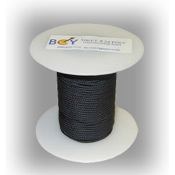 "BCY ""D"" Loop Rope Bulk, Black"