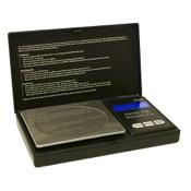 "OMP US-250 Mini Pocket Scale, 5""x3""x3/4"", 3858 grain max X 1.5 grain incr."