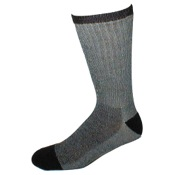 Elder Merino Wool Socks, Lg(10-13), Black, Wool/Nylon/Acr