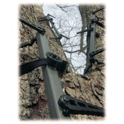 "Lone Wolf Climbing Sticks, 1ea x 32"" Sections, 2.5lbs, Brn"