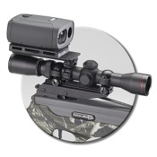 Excalibur Range-Finder Mount, mounts on top of scope
