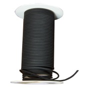 RAD Latex UVR .094 Tubing, 50 ft. Roll, Black