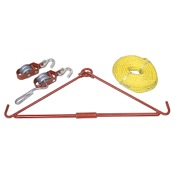 Allen Gambrel and Hoist Kit - Takedown, up to 440#, Folding Steel