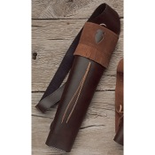 "Neet T-BQ-30 Medium Economy Back Quiver, 18 1/2"", Brown, Vinyl, RH"