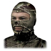 Primos Stretch Fit Full Hood Face Mask, One Size, APG, Full Mask