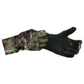 Primos Stretch Fit Gloves w/Sure-Grip & Extended Cuff, One Size, APG