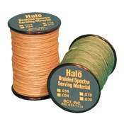 BCY Halo Braid Serving, 120 yds., Black, .014 Dia.