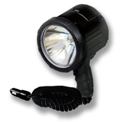 Optronics 3 Million Candle Power 12-Volt NightBlaster Halogen Spot Light, 130 Watt, Black, 12V