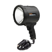 Optronics 2 Million Candle Power 12-Volt NightBlaster Halogen Spot Light, 100 Watt, Black, 12V