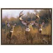"CR Wildlife Rug - Buck Stops Here, 36""x52"", Nylon"