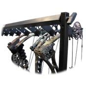 "C.W. Erickson Floor Deluxe Adjustable Bow Display, 48""L x 48""H, 10 Bow"