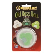Quaker Boy Turkey Call - Old Boss Hen, 3/pk, 3 pack