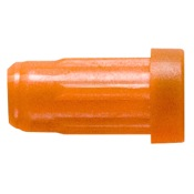 Easton Flat Back Crossbow Nocks, 2219, 12/pk., Orange