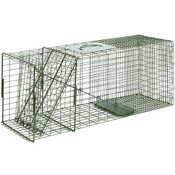 "Duke Single Door Wildlife Cage Traps, 32""x10""x12"", #3 Raccoon"