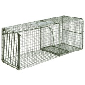 "Duke Single Door Heavy Duty Wildlife Cage Traps, 30""x12""x12"", Large-Raccoon"