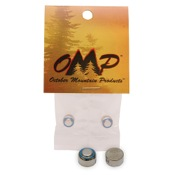 OMP #393 Silver Oxide Batteries, 2/pk.