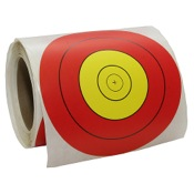 OMP 40cm Stick-on Target Patch, 40cm., Roll, 250/Roll