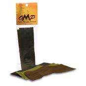 """OMP String Silencers  Camo, 3pcs/pk, Camo, 5"""" Strips"""