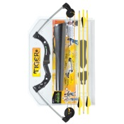 "Martin Tiger Archery Set, 14""-22"" Draw Length, 10-20#, Black, RH/LH"