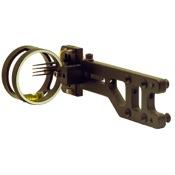 Sword Apex Hunter Sight, Black, 4 Pin .019, RH