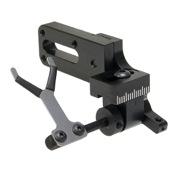 Vapor Trail LimbDriver Pro Standard Rest - Black, Black, LEFT HAND