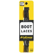 "LaCrosse  Boot Laces, 76"", Blk/Brn, 8"" upper"