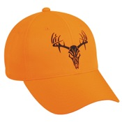 Outdoor Cap 6 Panel Blaze Cap w/Deer Skull Tribal, One Size, Blaze