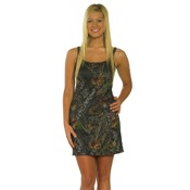 Weber Womens Camo Loungewear Nightgown, Md, MO-BrkUp