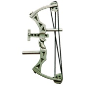 "Empire Parallel Bow Pin, 1"", Pewter"